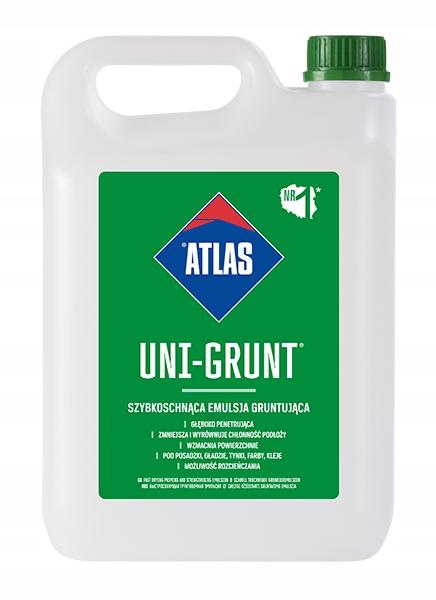 ATLAS UNI-GRUNT szybkoschnąca emulsja grunt 5L