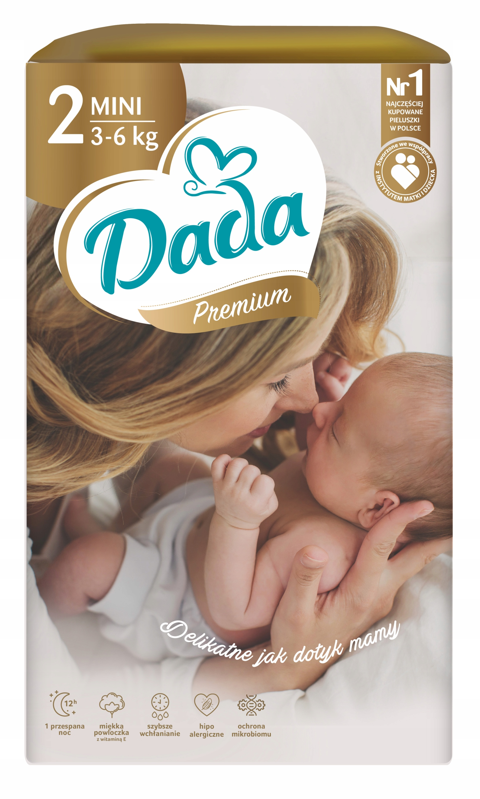 Подгузники Dada Extra Care 2 Mini 3-6 кг 43 шт.