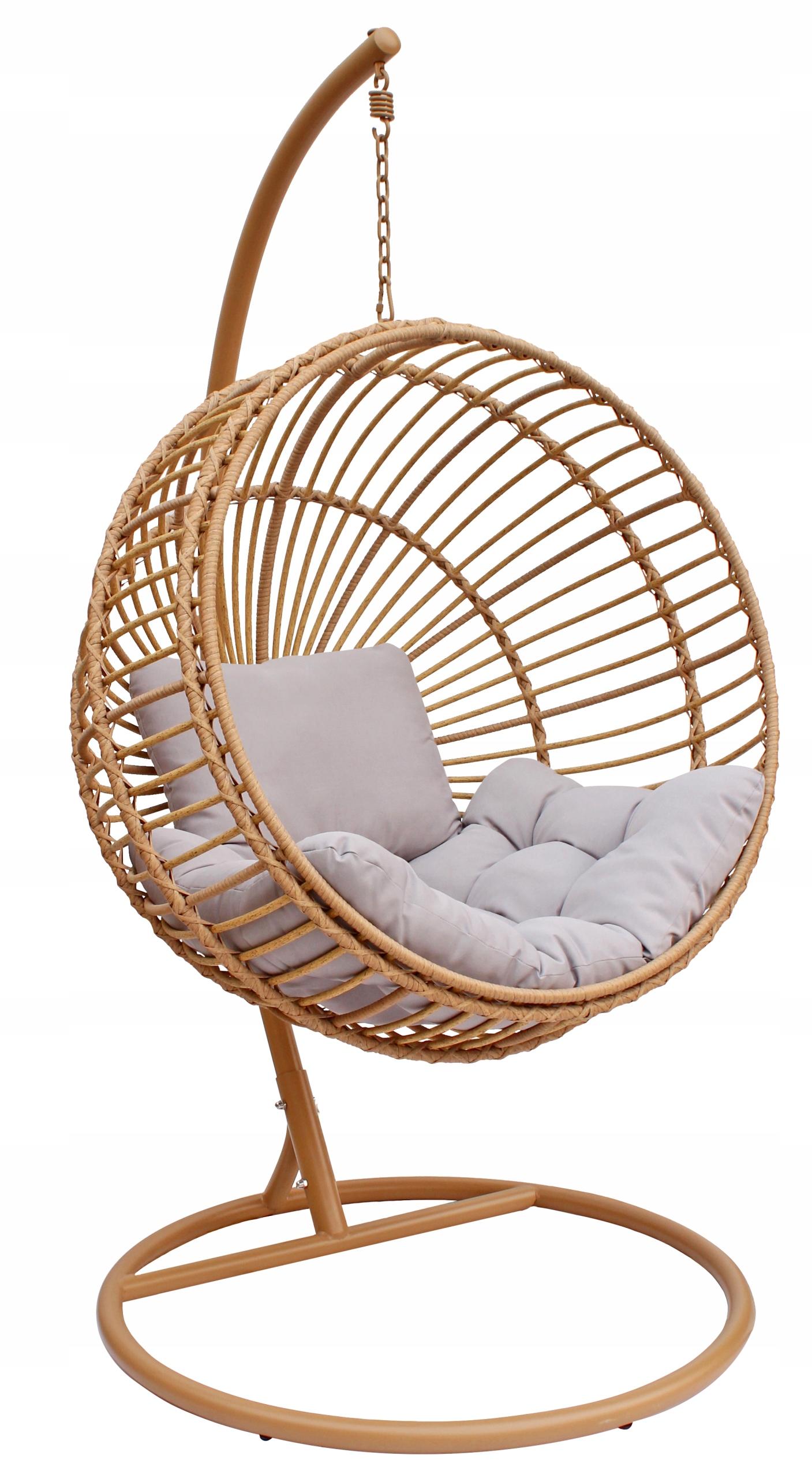 Závesná záhradná stolička STELLA kokon