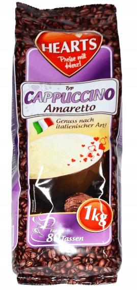 Капучино Амаретто 1кг (Сердечки)