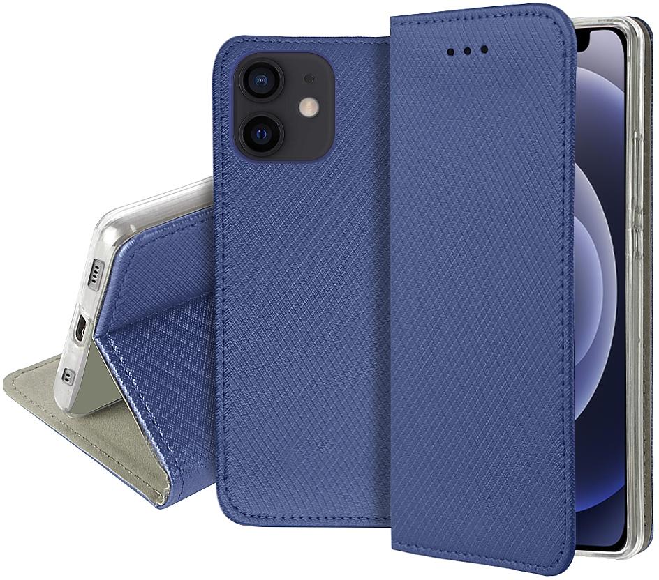 Etui do iPhone 12 Case Magnet Portfel + Szkło 9H