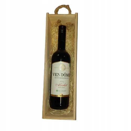 Подарочная упаковка безалкогольного вина Vendome Merlot