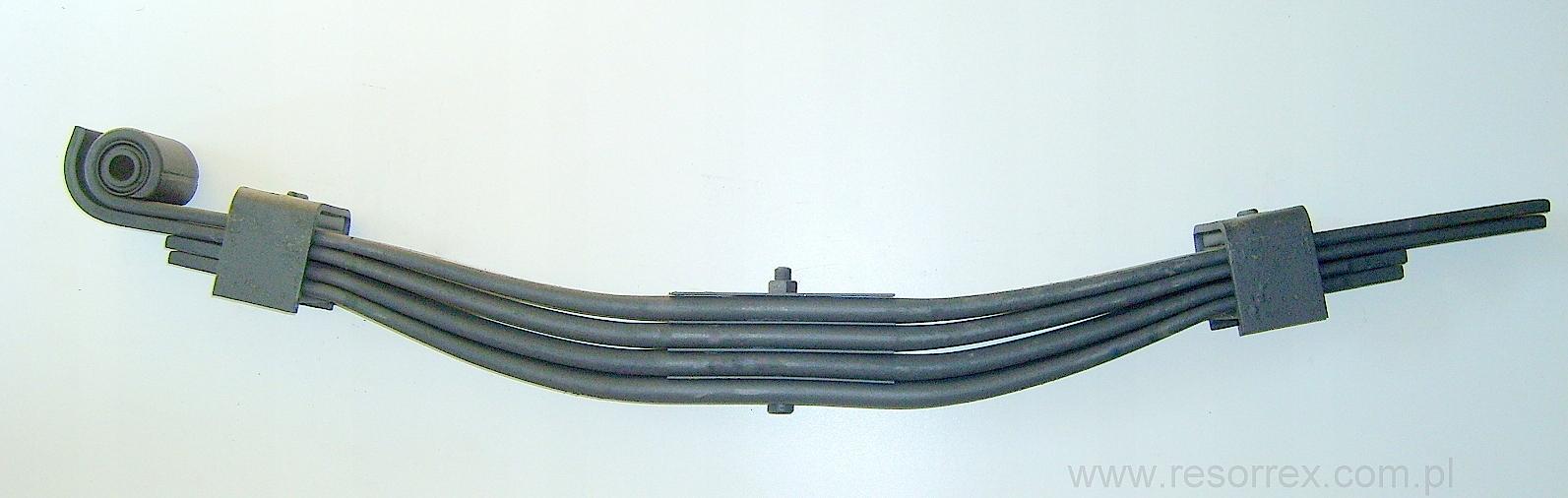 листовая 4 рессора к прицепа anhanger