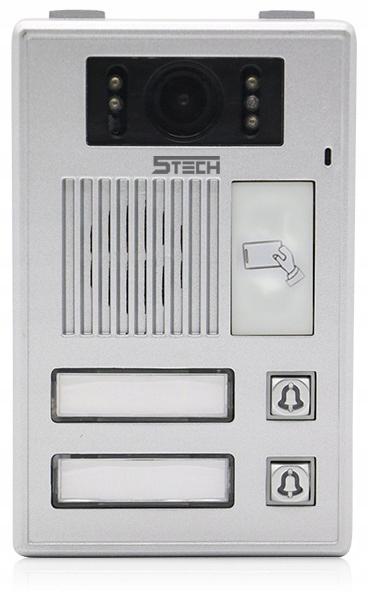 Wideodomofon Videodomofon WiFi FHD 5TECH TELEFON Rodzaj domofonu Wielorodzinny