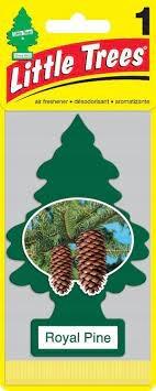 Ароматные елки Little Trees СОСНА КОРОЛЕВСКАЯ 2 шт.