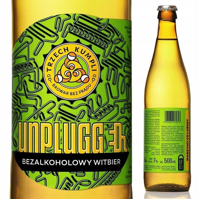 Piwo Unplugged Witbier bezalkoholowe 0,5% 500ml
