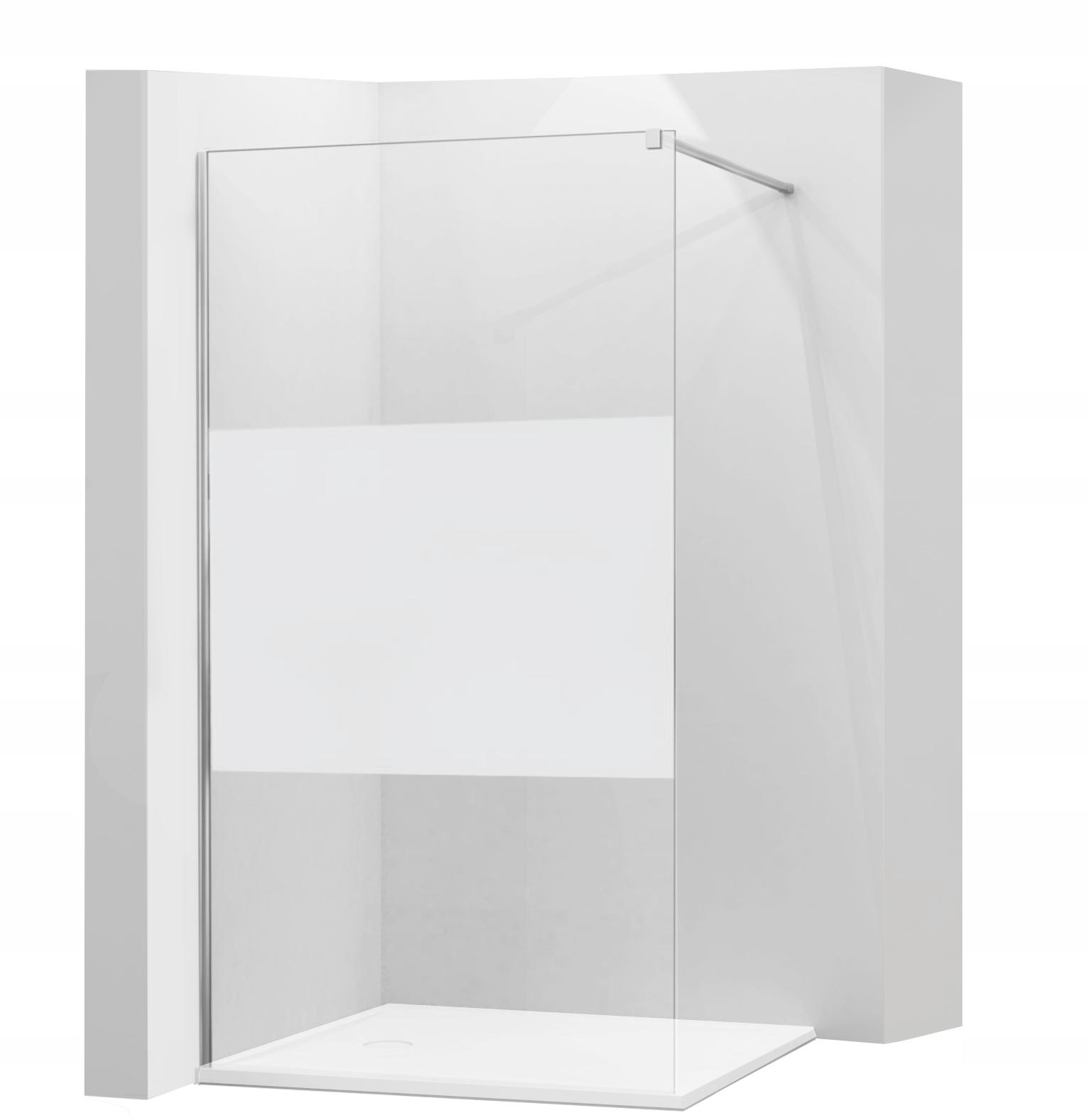 MEXEN KIOTO SPRCHOVÁ STENA 100x200 sklo 8 mm