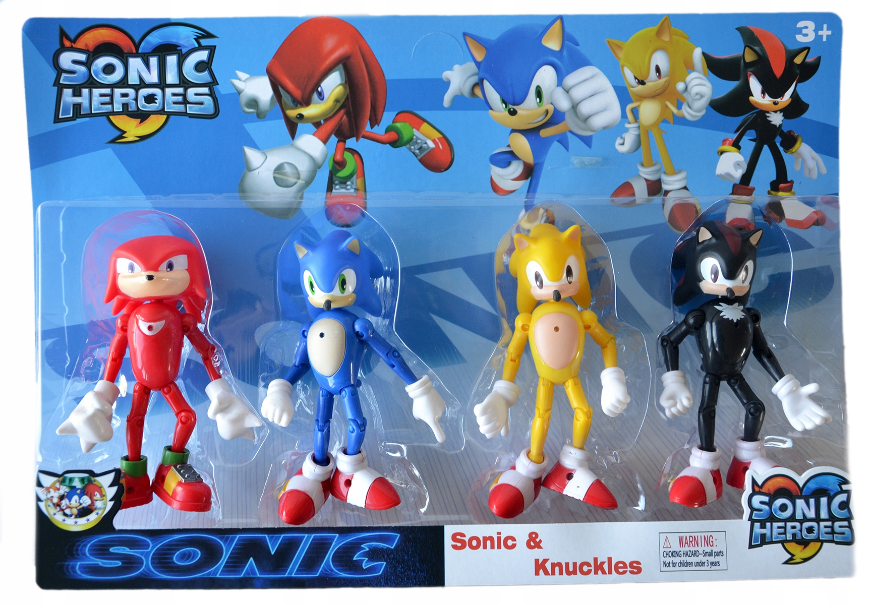 SONIC TEAM THE HEDGEHOG MOVING FIGURES CANDLE