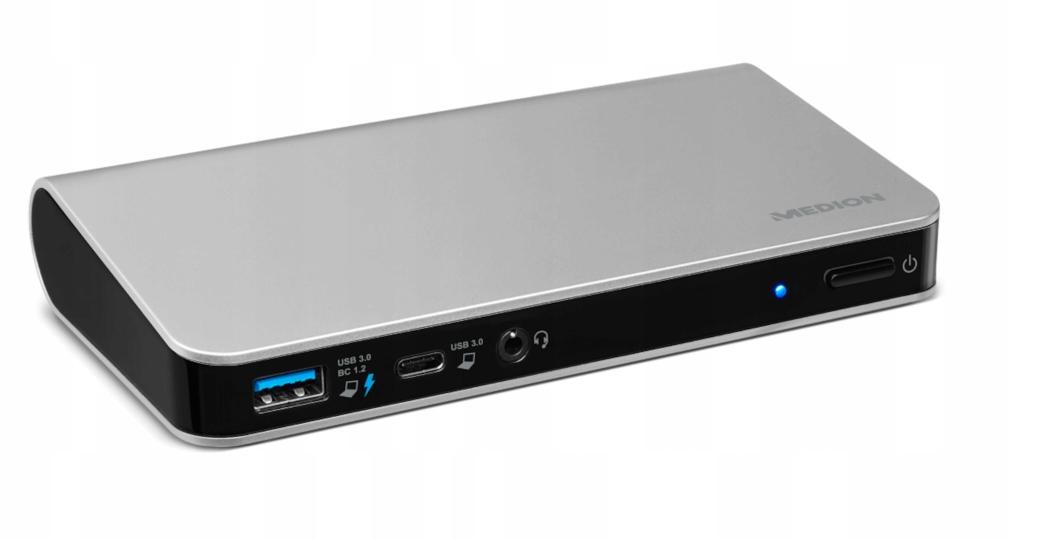 Stacja Dokująca Medion MD87905 USB 3 0 HDMI RJ45