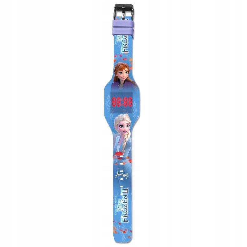 Frozen LED dotykové hodinky Frozen Elsa 342