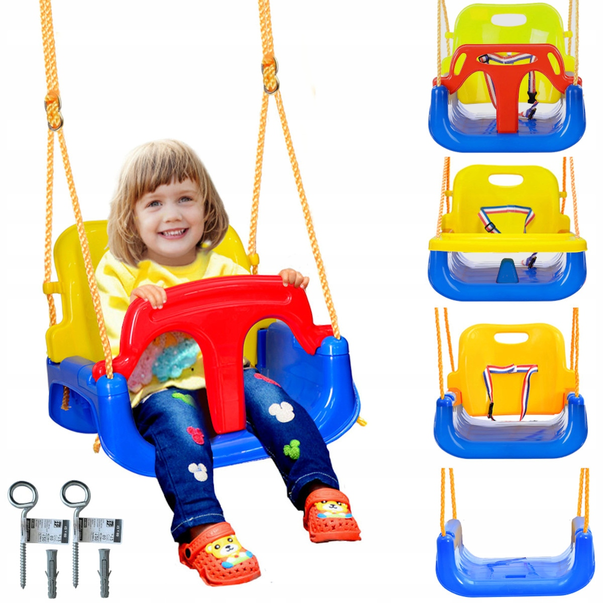 Детские качели STRONG HANGED 4in1 seat