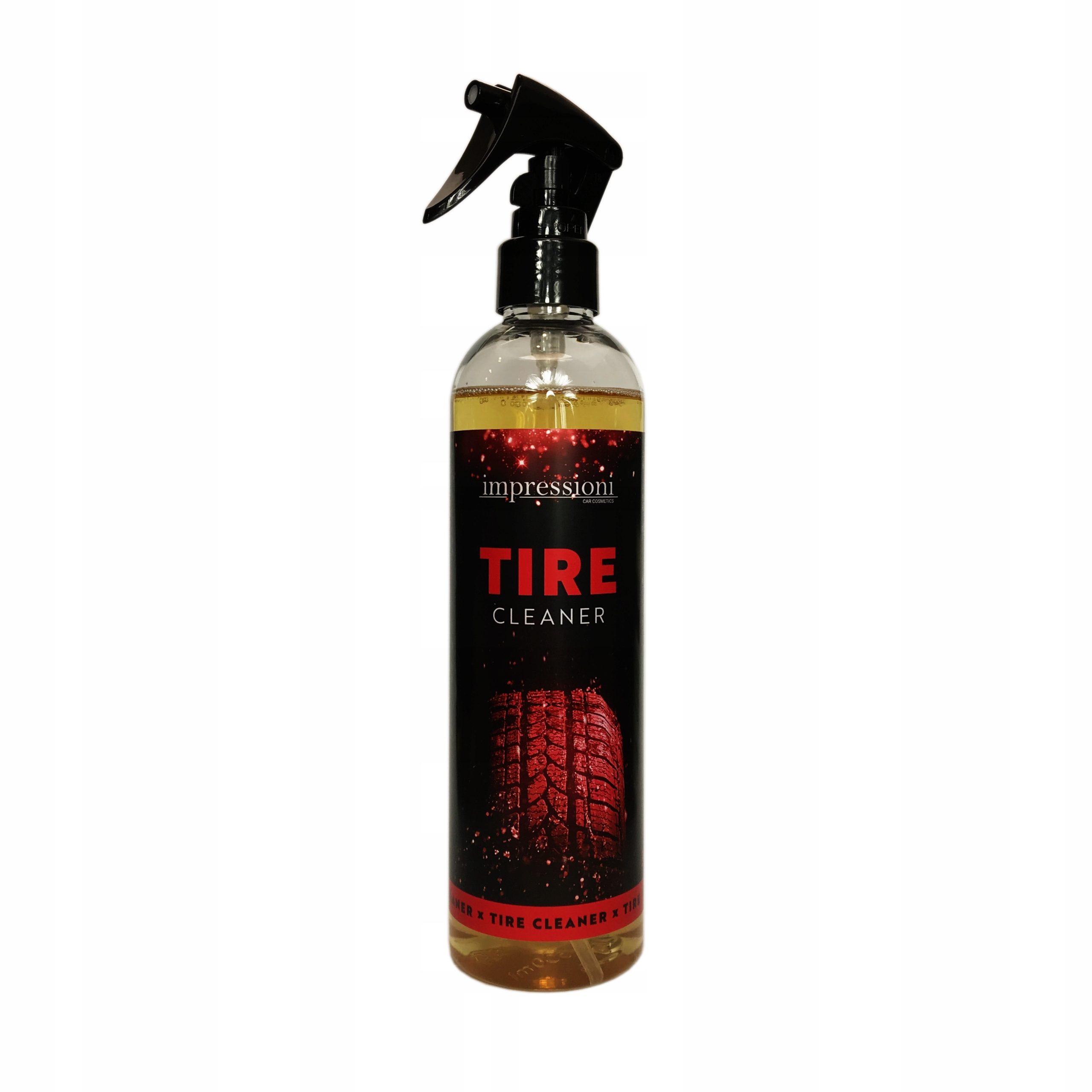 Очистка шин с помощью TIRE CLEANER