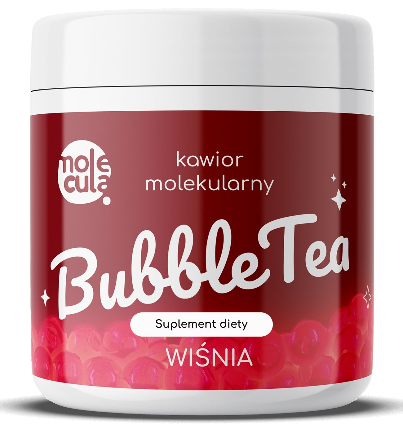 Молекулярная икра со вкусом вишни 0,7 кг Bubble Tea
