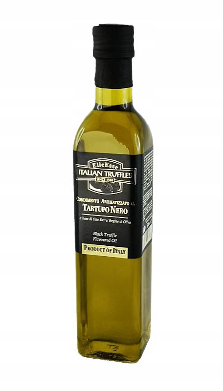 Taliansky olivový olej truflowa olivový olej čierne hľuzovky 500 ml