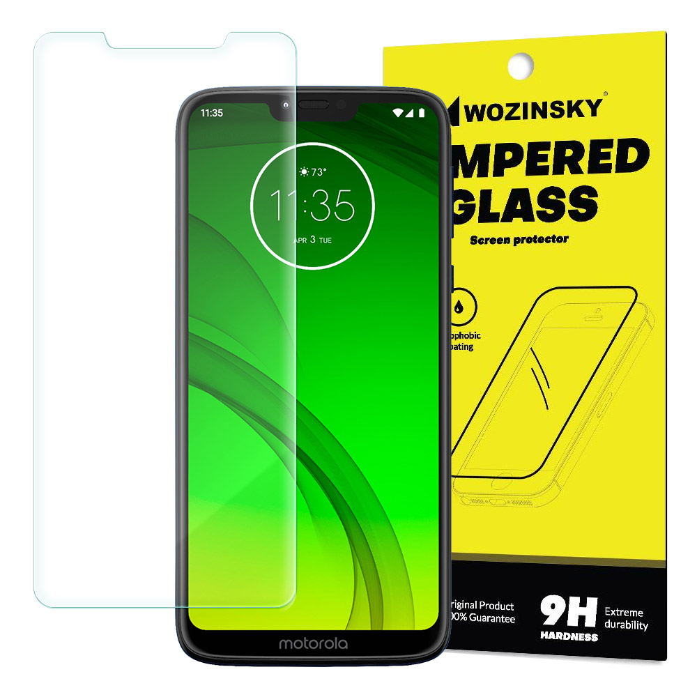 Szkło hart Wozinsky 9H do Motorola Moto G7 Power