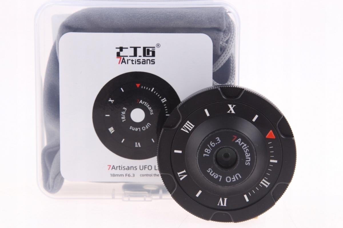 Купить 7Artisans 18mm F6.3 UFO Lens Micro 4/3 M43 - МАГАЗИН на Otpravka - цены и фото - доставка из Польши и стран Европы в Украину.