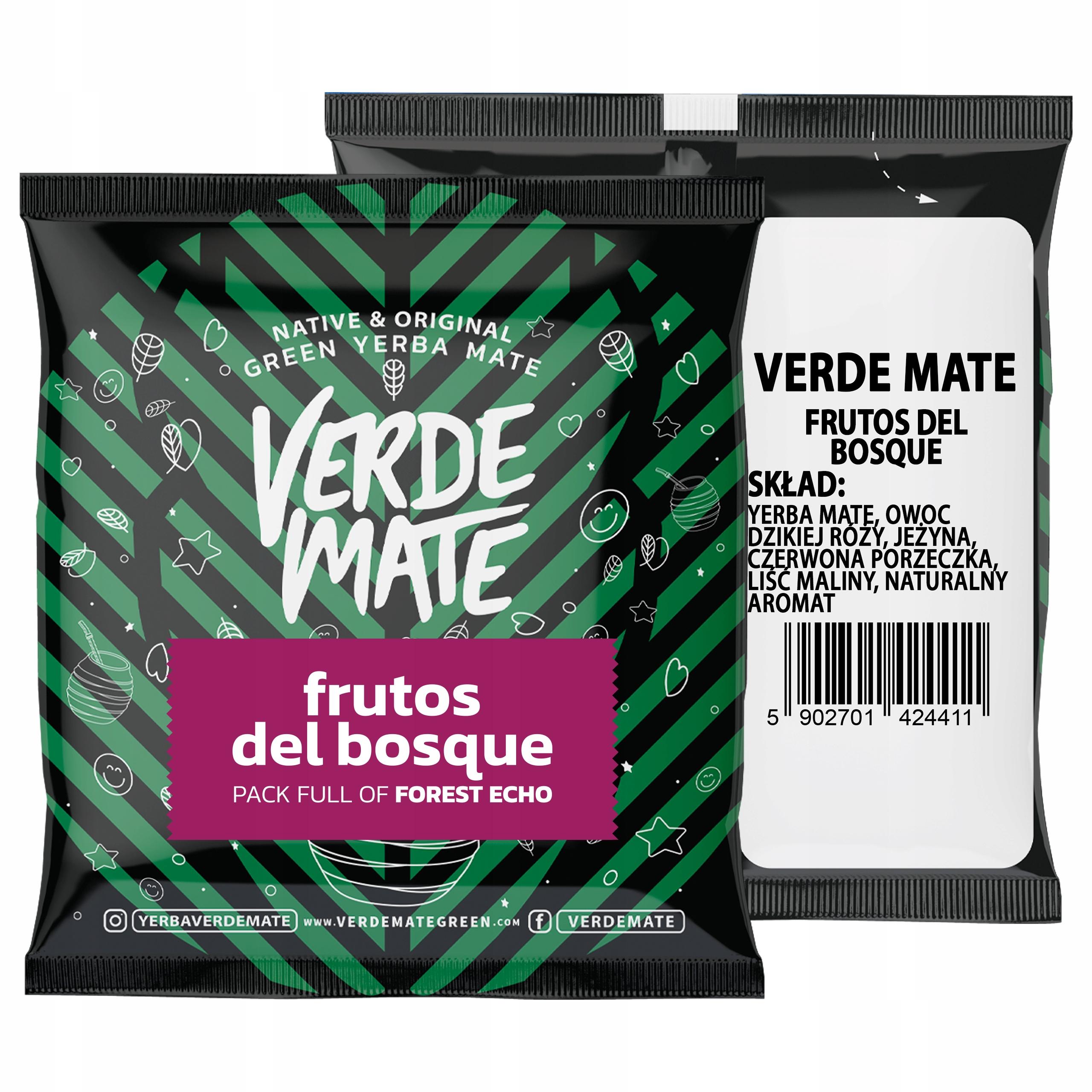 YerbaVerde Mate Frutos del Bosque 50g próbka