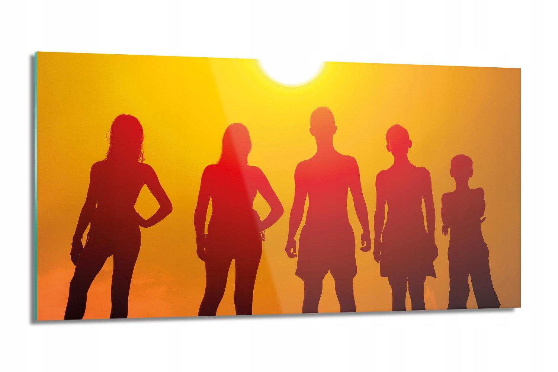 panel kuchenny z foto Dzieci plaża słońce 100x50