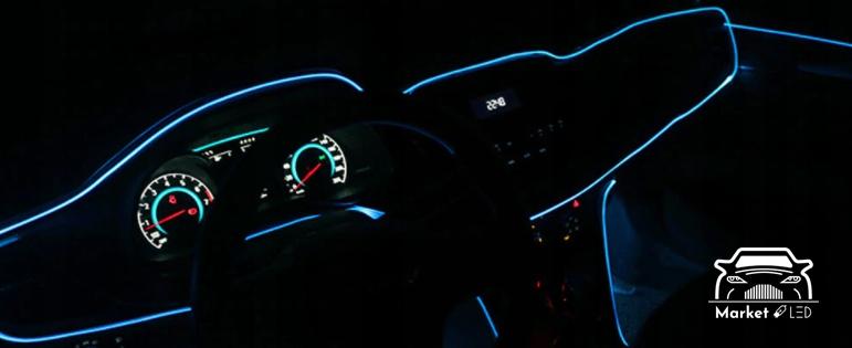 3M Światłowód Pasek Ambient Taśma LED Liczba sztuk 1 szt.