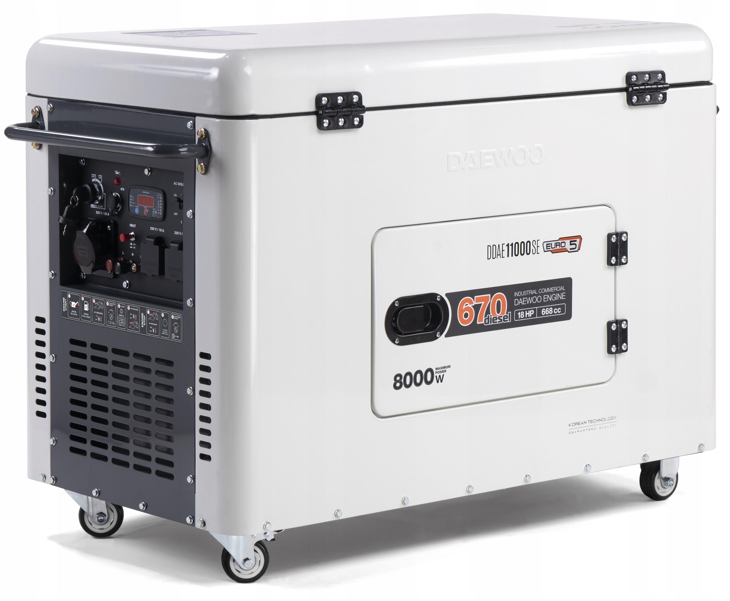 Дизель-генераторная установка DAEWOO DDAE 11000SE