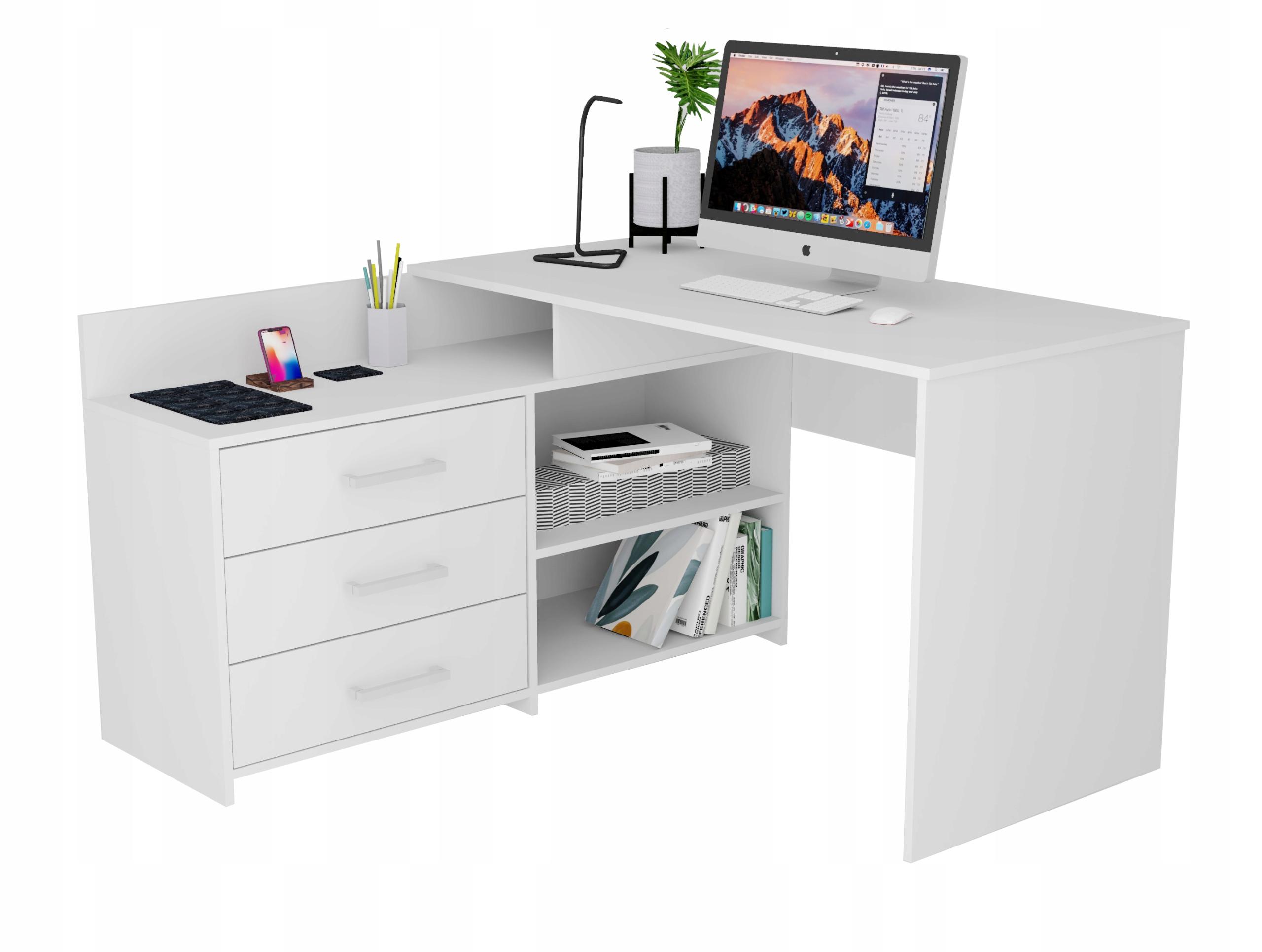 Рафал письменный стол белый