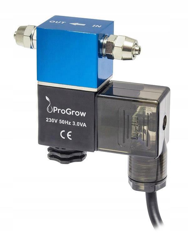 Электромагнитный клапан ProGrow CO2 2.5 3.5W 230V для CO2