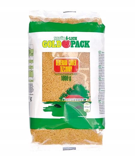 NATURLICH GOLDPACK - cukier trzcinowy 1kg