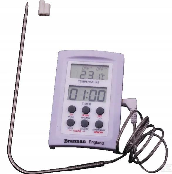 Цифровой термометр с измерительным зондом для животных