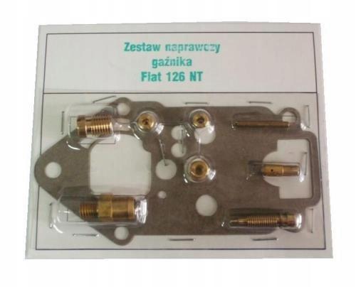 комплект ремонтный карбюратор fiat 126p малыш nt kgx