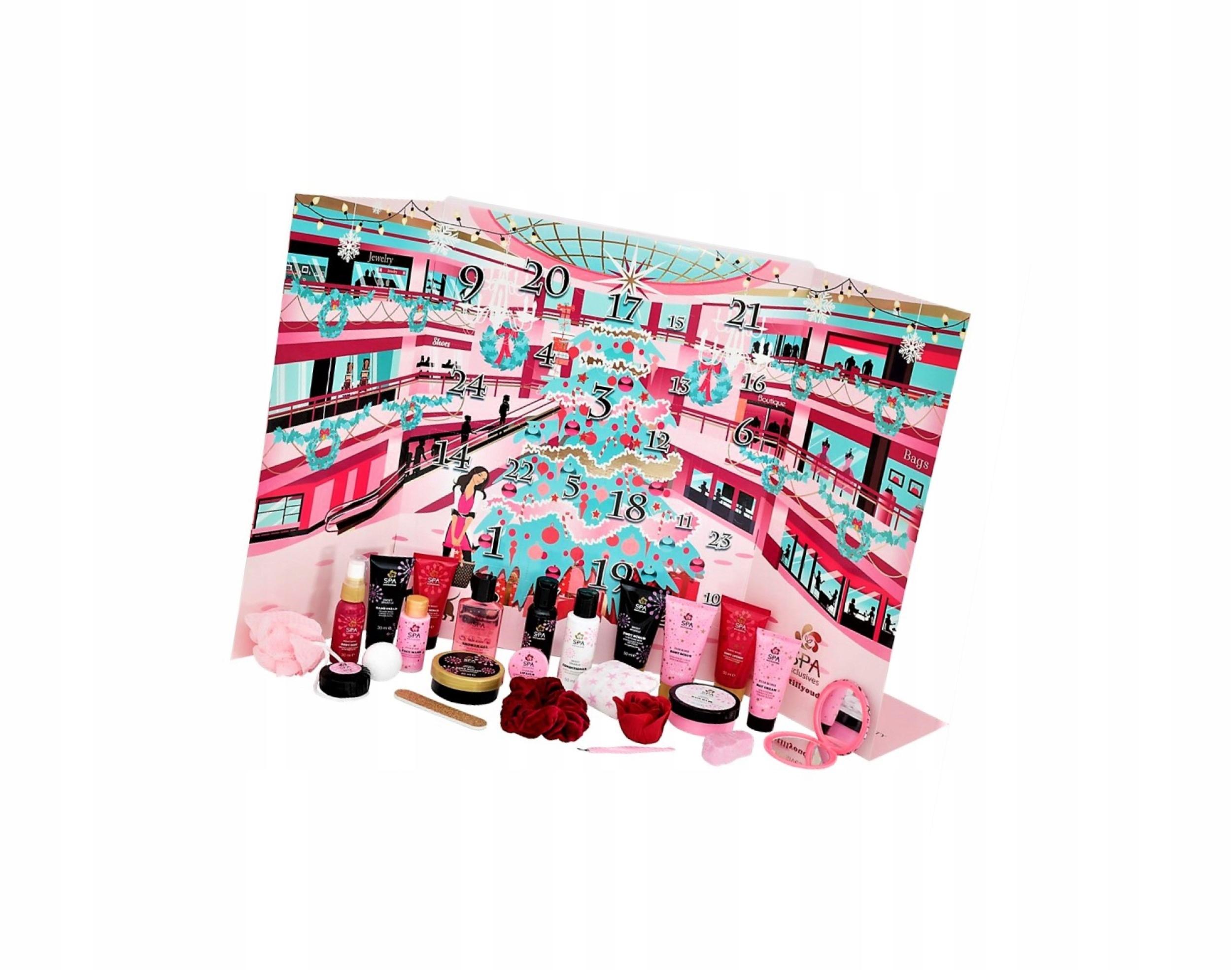 Kalendarz Adwentowy Z Kosmetykami Spa Exclusive 20 9843769682 Allegro Pl