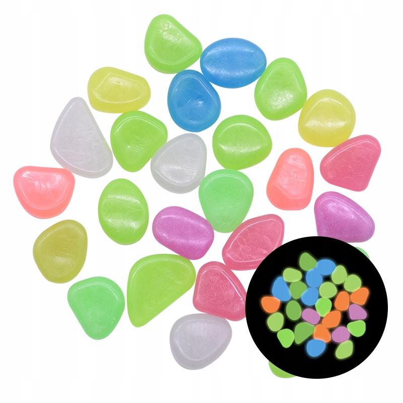 25 sztuk Glow in the Pebbles Glow Stones Rocks