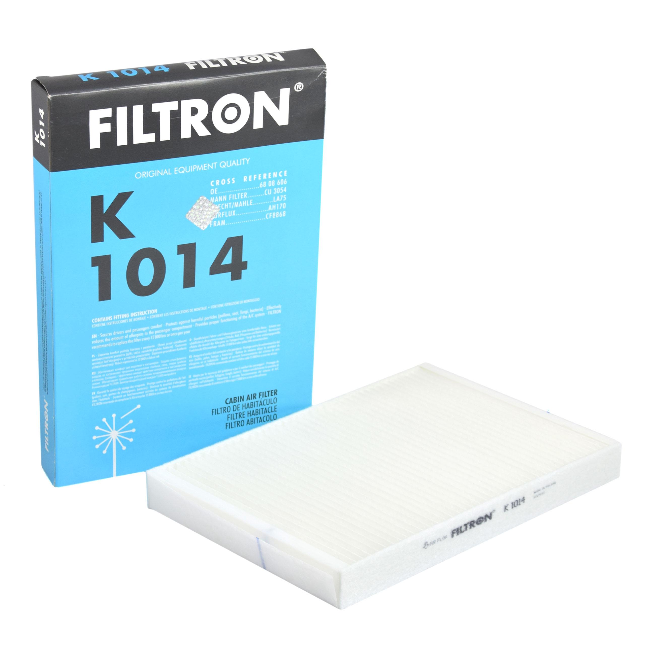 фильтр кабины filtron k1014 opel astra g h zafira a