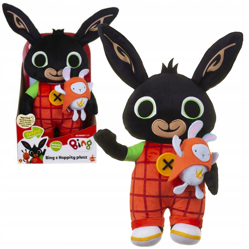 RABBIT BING HOPPITY RABBIT TULIŚ MASCOT SPEAKS PL
