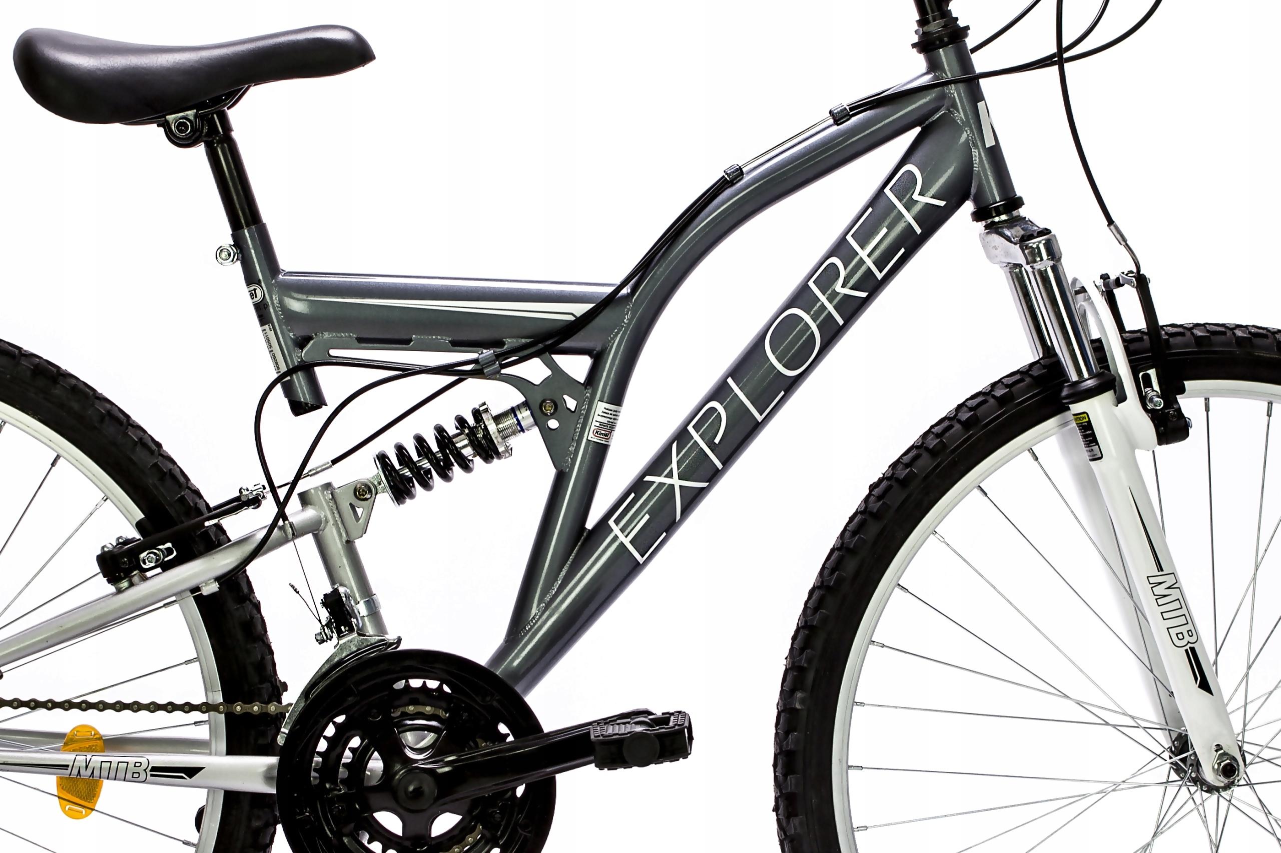 "kolo 26 ""  MTB AMPT eko sivo-bela Velikost kolesa ("") 26"