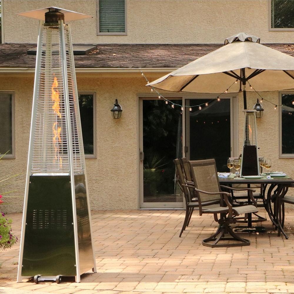 Vykurovací dáždnik Radiant Pyramid 13 KW + zadarmo Hmotnosť 24 kg