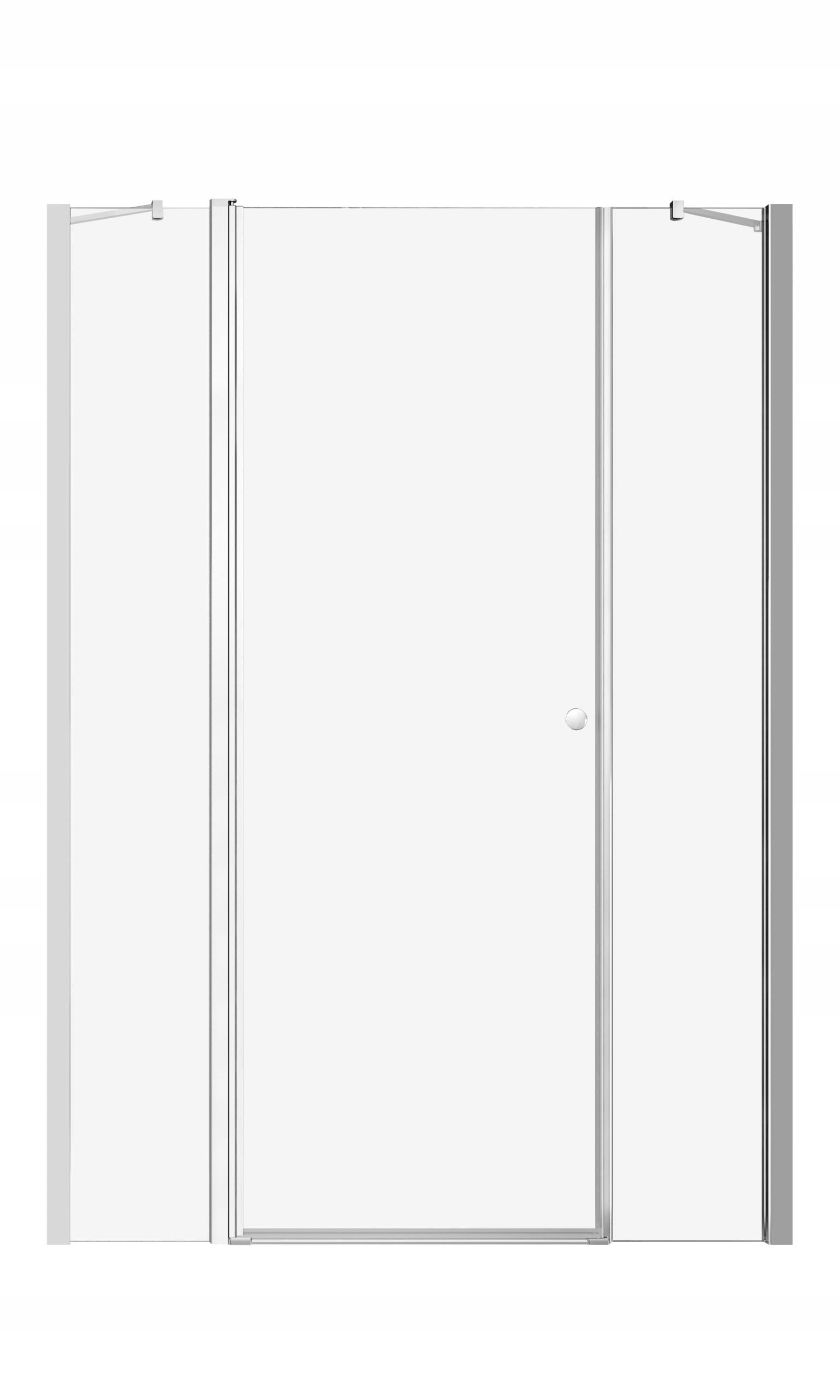 Sprchové dvere EOS II DWJS 130x195 chróm cl