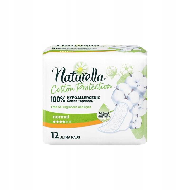 Гигиенические прокладки Naturella Cotton Normal 12 шт