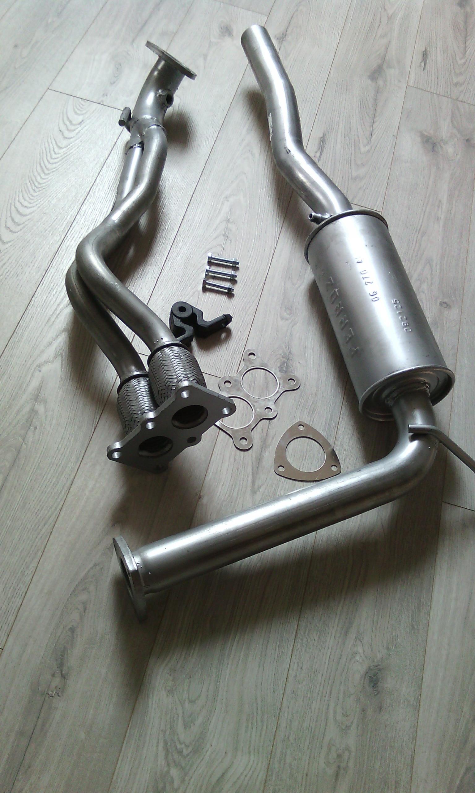 Vw transporter t4 2.0 2.5 глушитель poczatkowy + труба - фото 4