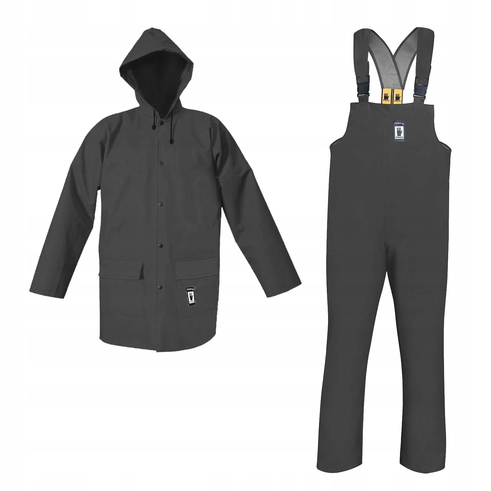 Одежда, плащи 101/001 сильные L серый