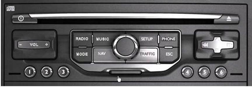 Item Repair Navigation RNEG Citroen Peugeot G12m