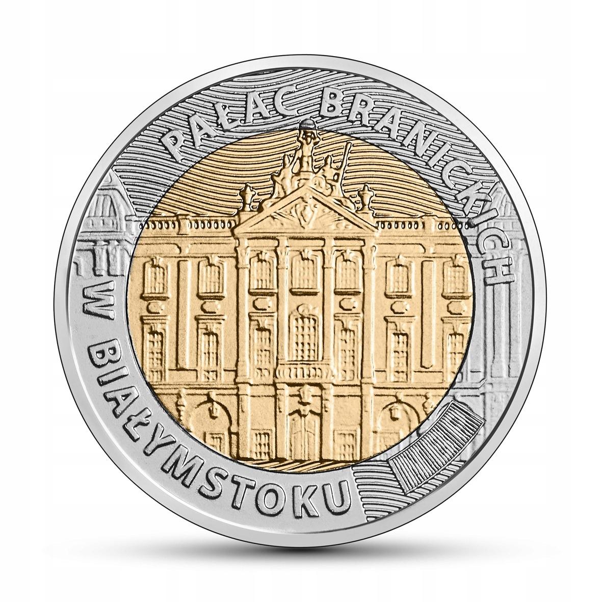 [273] 5 zł Odkryj Polskę - Pałac Branickich 2020