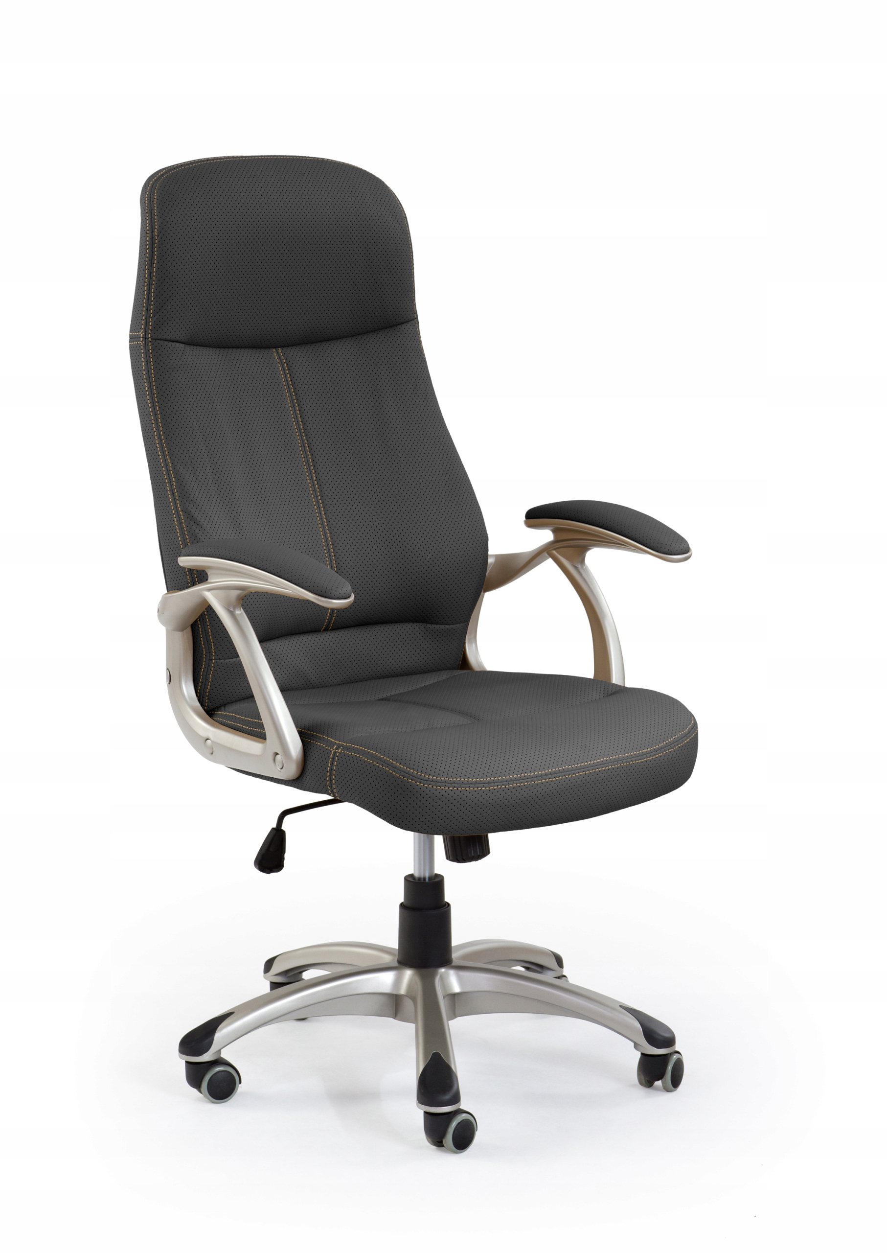 Otočná stolička EDISON Čierna kancelárska Stolička HALMAR