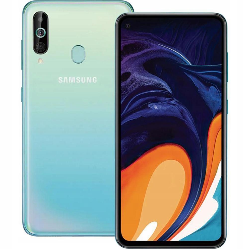 Samsung Galaxy A60 A606 6 128gb Blue Dual Nfc Lte 9238087564 Sklep Internetowy Agd Rtv Telefony Laptopy Allegro Pl