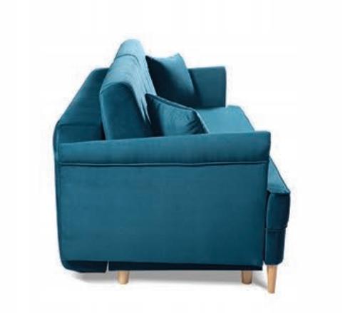 LUIS Sofa stilvolles Sofa f. Schlafbehälterfarben Schlafbereich - Breite (cm) 141-150 cm