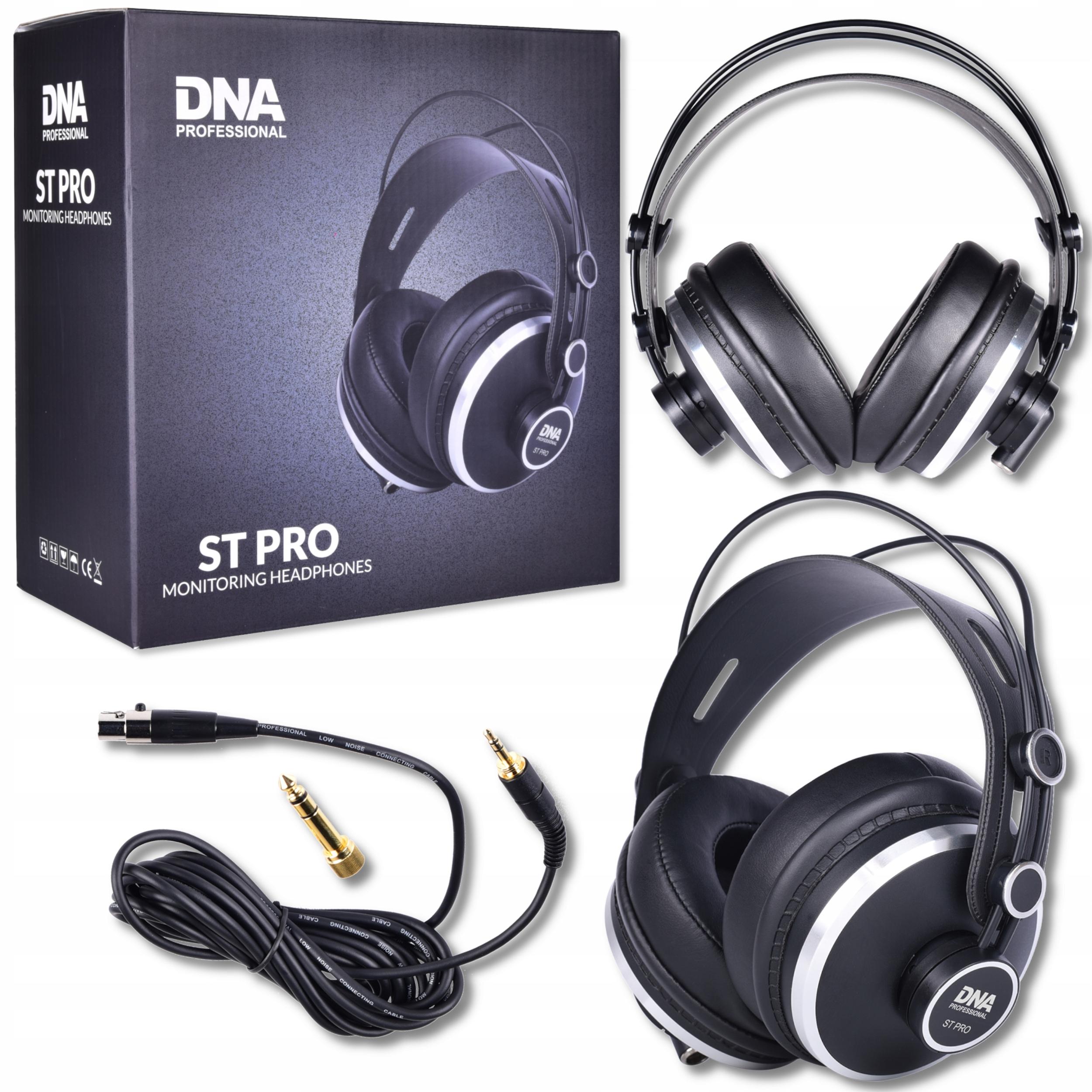 Item DNA ST PRO Studio headphones closed invoices