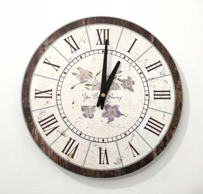 Zegar ścienny ZH49 retro vintage 30cm
