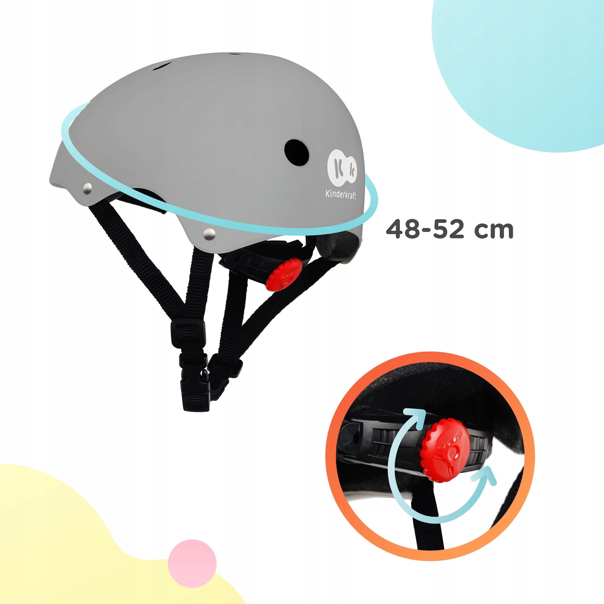 Kask rowerowy dziecięcy Kinderkraft SAFETY Marka Kinderkraft