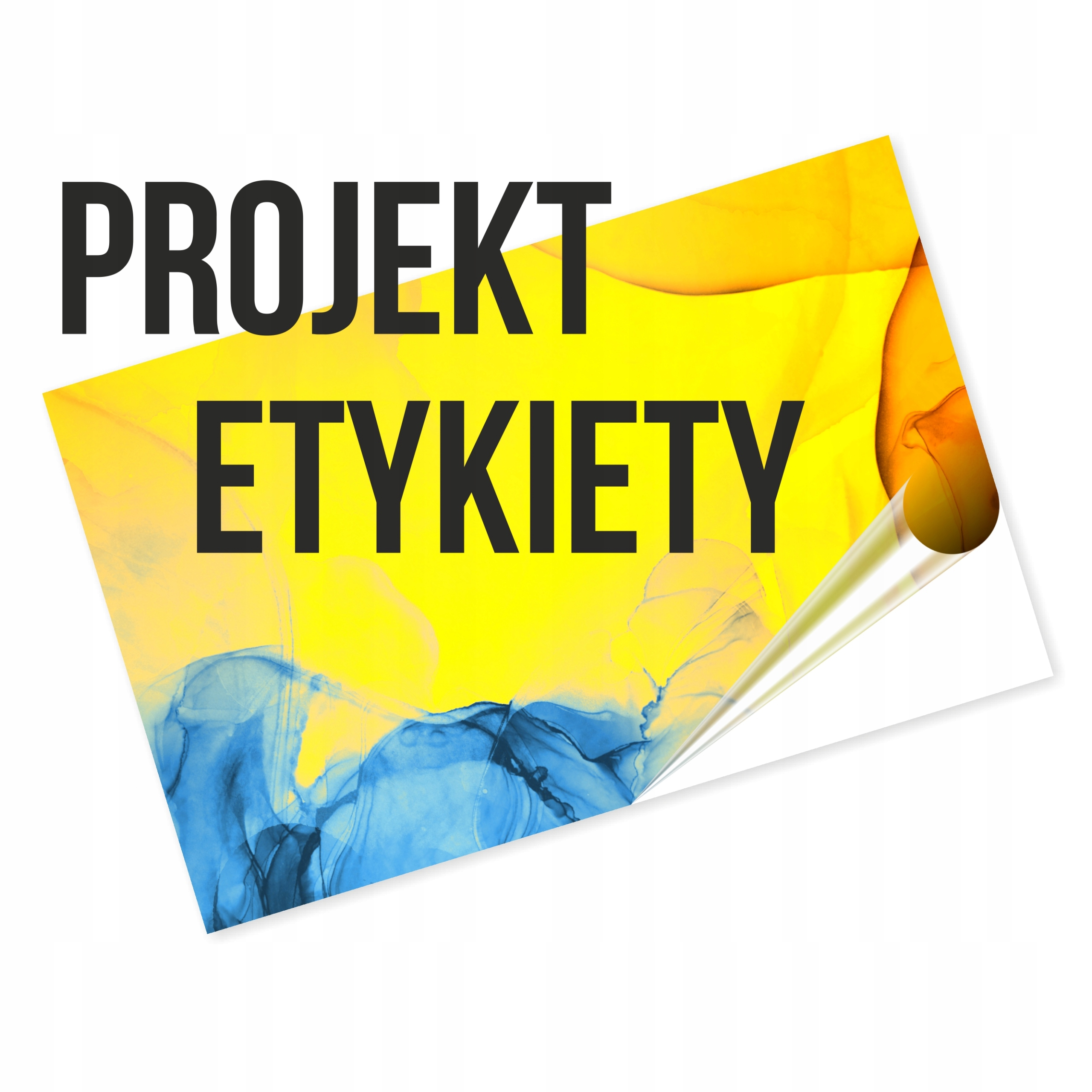 Grafický dizajn štítku produktu
