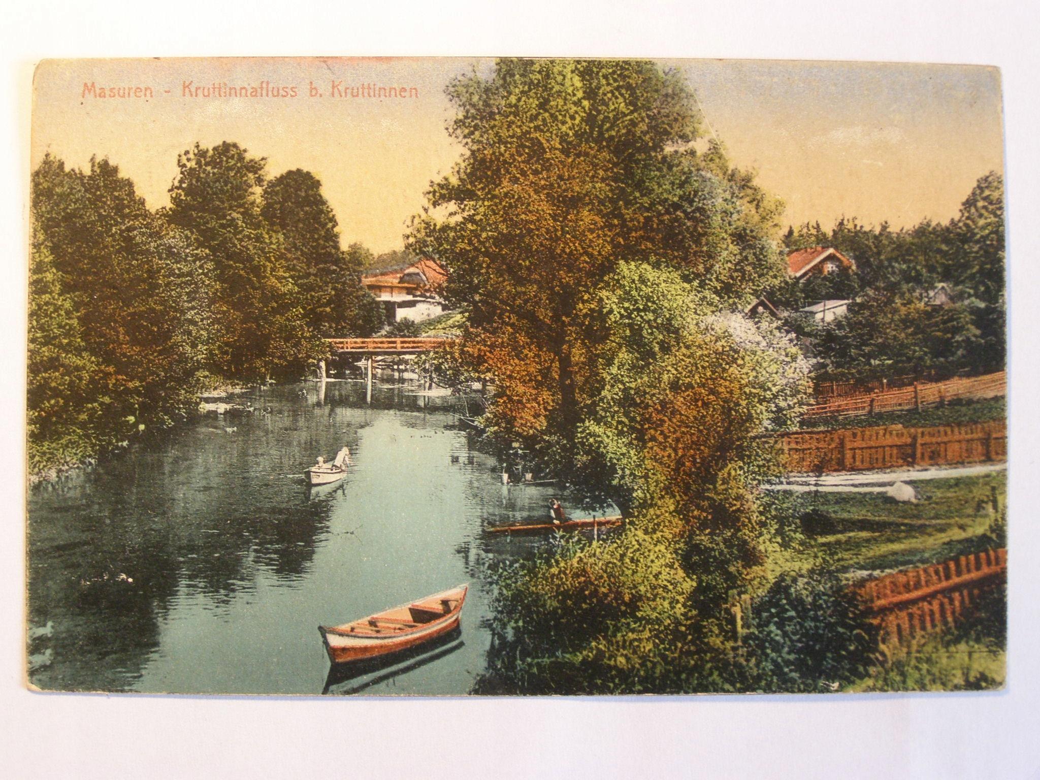 Jezioro Bełdany Mazury Krutynia 1916
