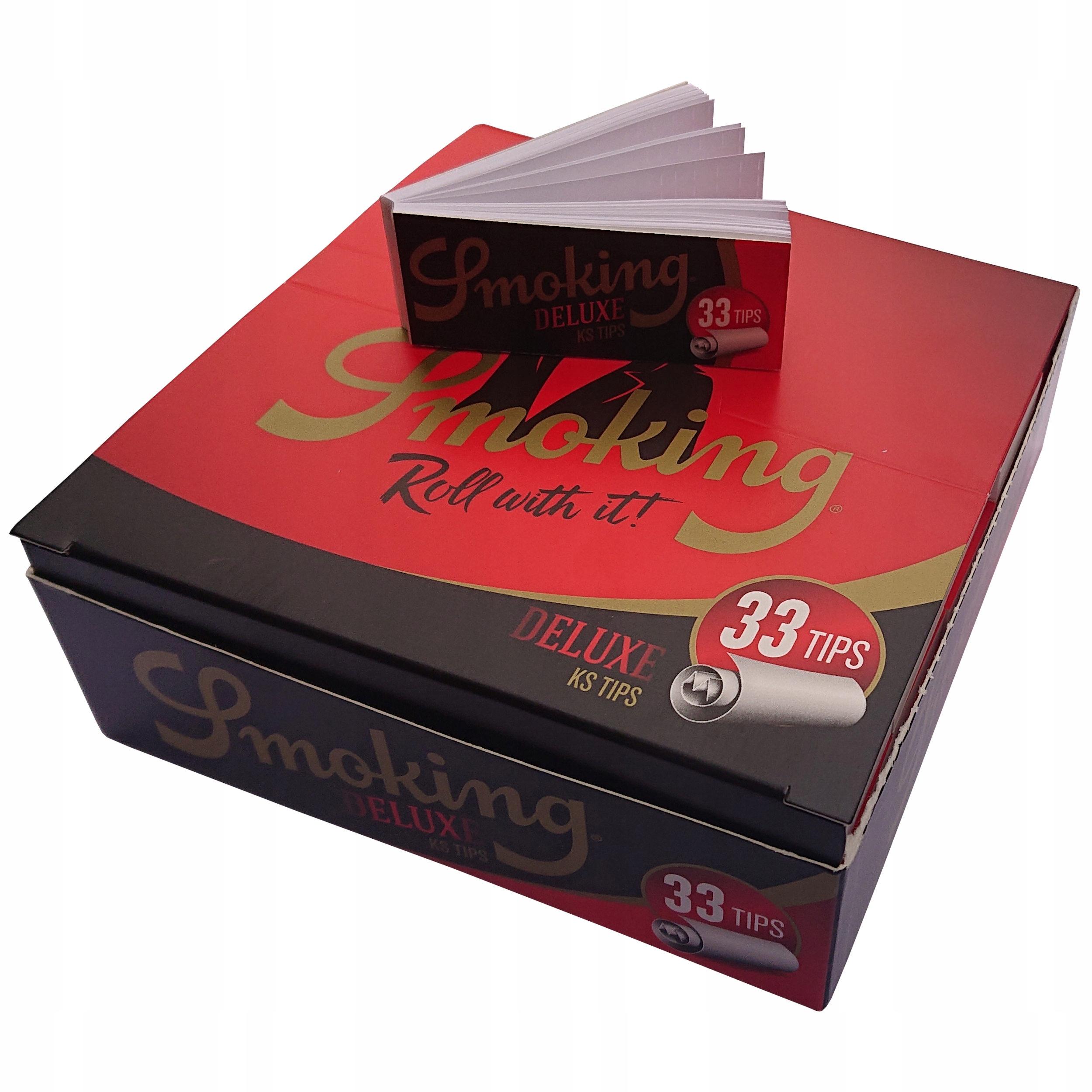 50 x Filtry Tipy Курительная бумага KS